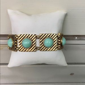 Turquoise and Good Loren Hope Bracelet